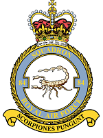 Crest of 84 Squadron R.A.F.
