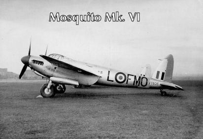 Mosquito MK VI at Brize Norton